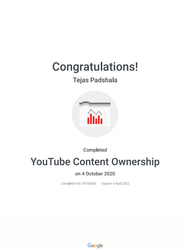 Youtube Content Ownership